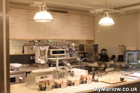 Waitrose Cafe Menu