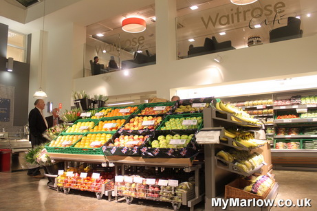 Waitrose has moved its still great my marlow fruit m4hsunfo