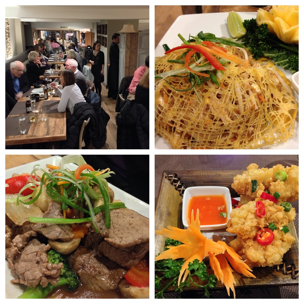 Thai Restaurant On West Th St Paul