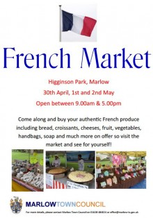 french market poster
