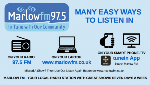 Marlow FM logo and details