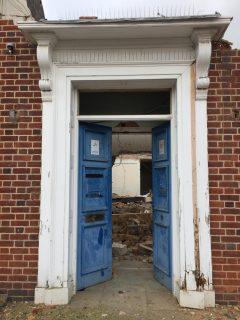 Police Station door