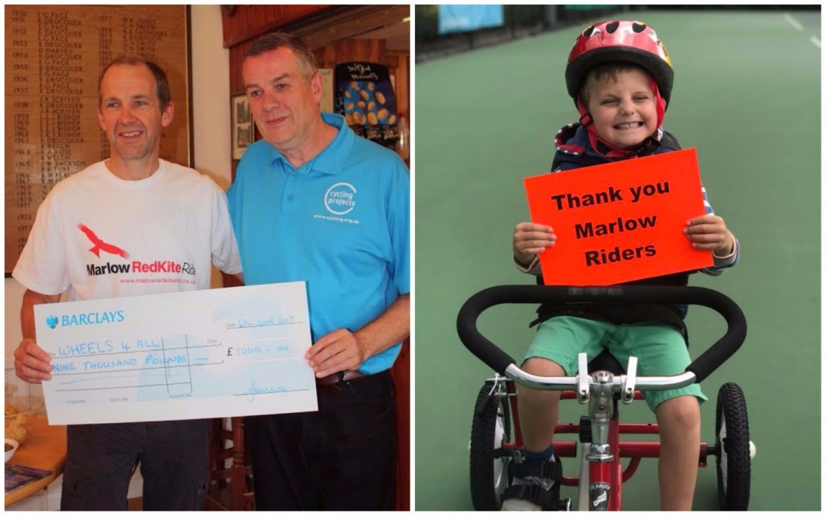 Marlow Riders donation