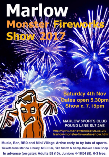 marlow monster fireworks 2017