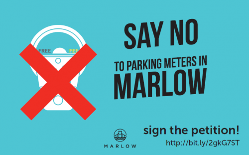say no to parking charges in marlow