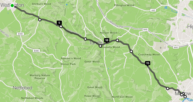 zoes planned route
