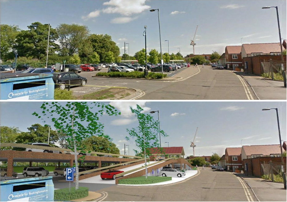mtc car park before and after from platts end