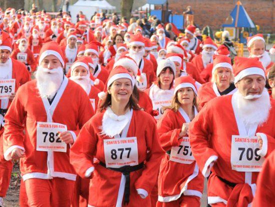 Marlow Santa Fun Run – fastest ever take up!