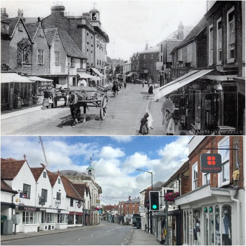West Street then and now