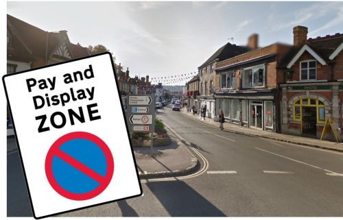 marlow high street pay and display