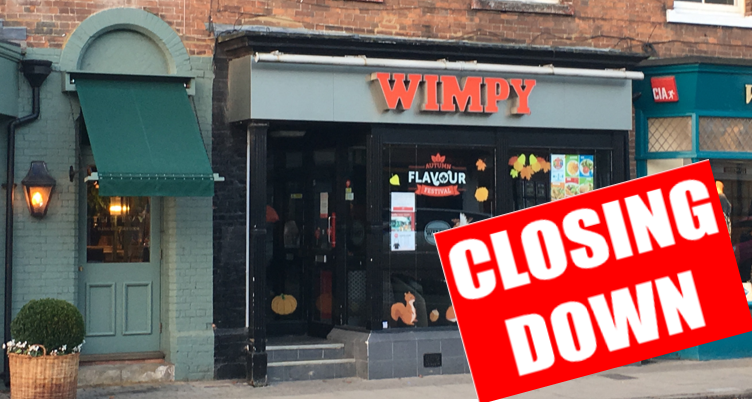 wimpy in marlow closing