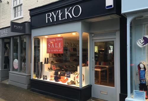 Rylko Marlow closing down