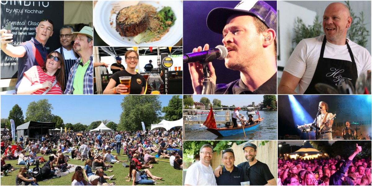 Pub in the Park 2018 Collage
