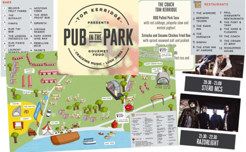 Pub in the Park 2018 Preview