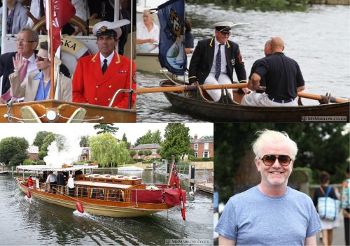 Swan Upping collage site