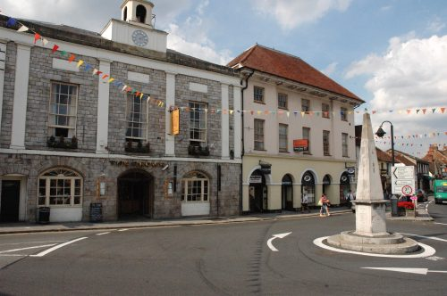 Marlow High Street - old Crown