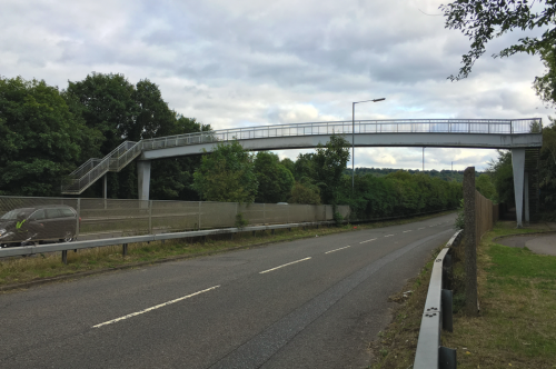 volvo footbridge marlow