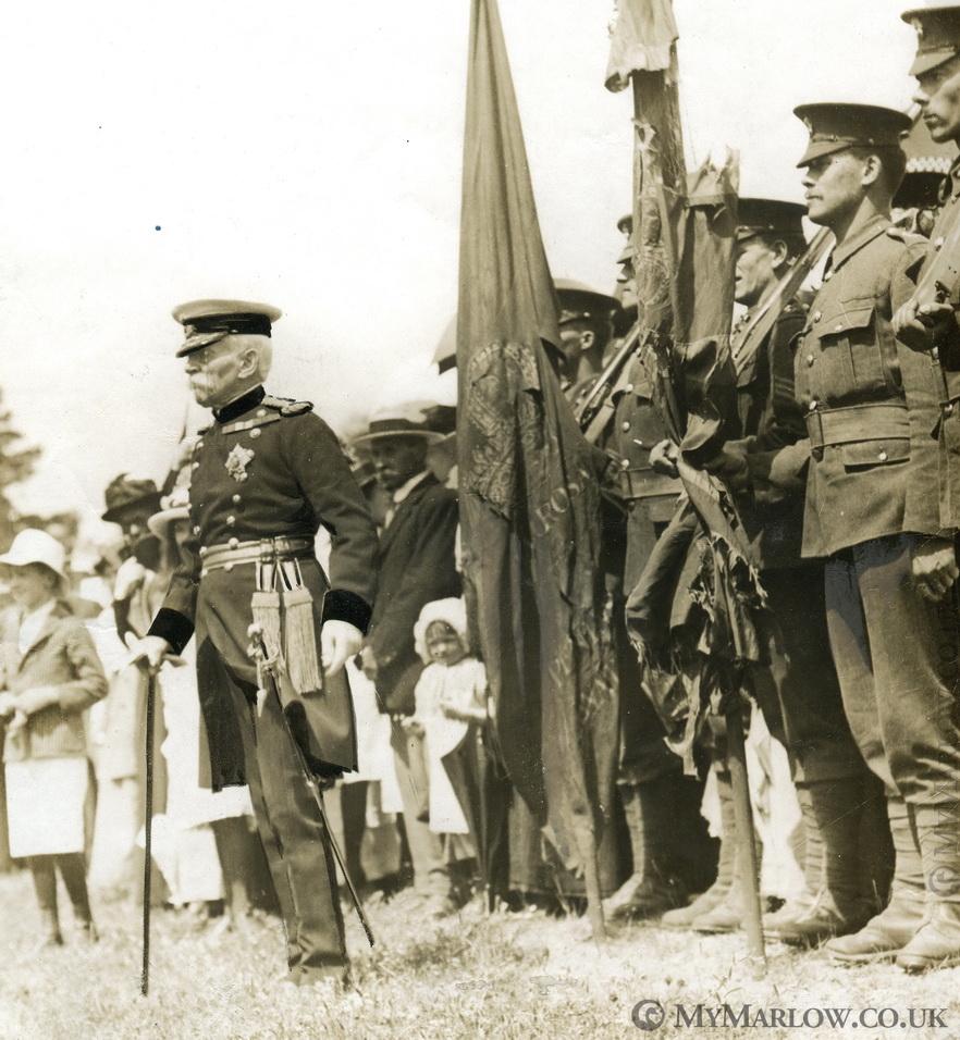 General Higginson reviews troops in Marlow (c) MyMarlow