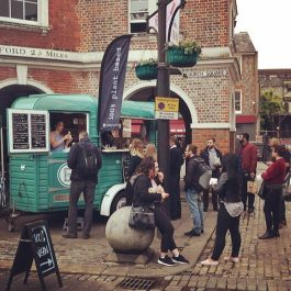 Vegan Street Food in Marlow at The Ship