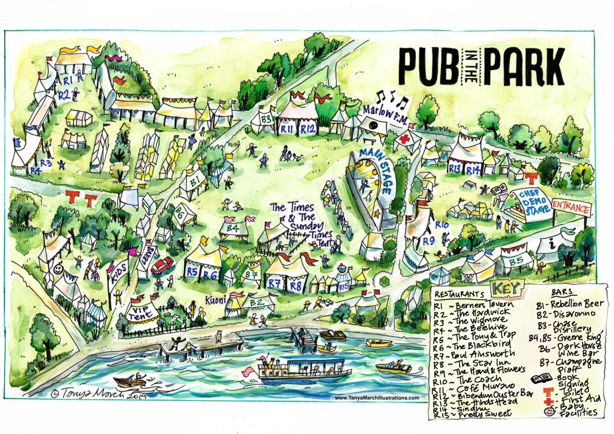 map of pitp 2019