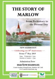 story of marlow - marlow museum poster