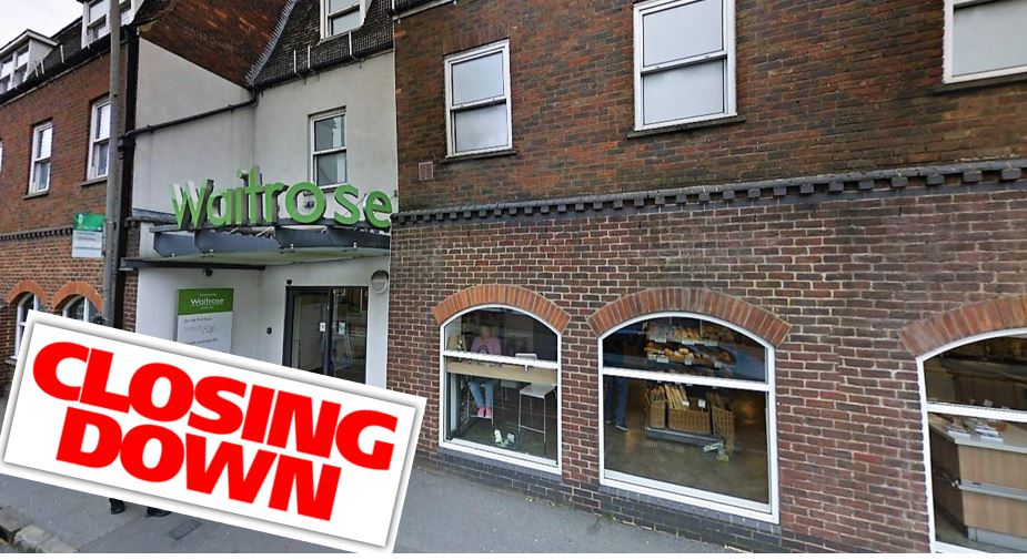 waitrose marlow closing