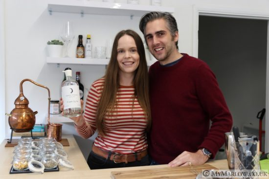 Gin from Marlow Bottom! Our visit to Cross Stream Distillery