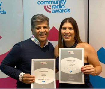 Marlow FM pair win a silver each at radio awards