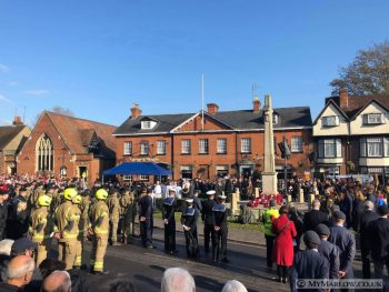 Marlow Remembrance Service 2019.