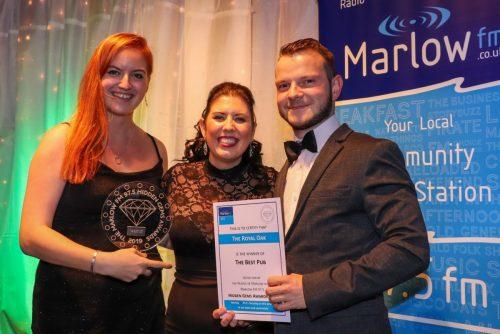 Marlow FM Hidden Gems Awards 2019 winners The Royal Oak