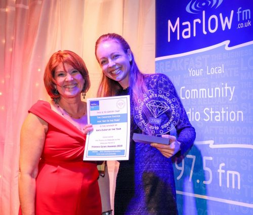 Marlow FM Hidden Gems Awards 2019 winners Charlotte Eames The Creation Station