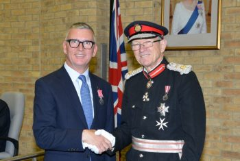 Marlow resident receives royal recognition for charitable work