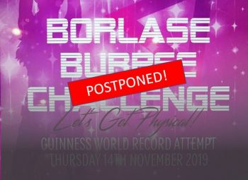 Borlase World Record Burpee Challenge Event Postponed Due to Adverse Conditions
