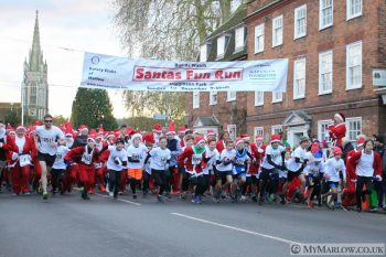 GALLERY: Santa Fun Run 2019