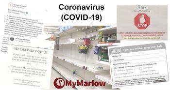 Coronavirus – Marlow updates [updated 20-3-20]