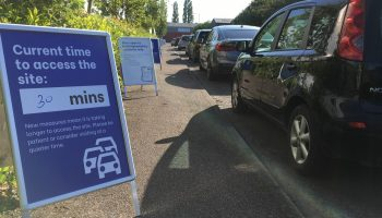 Council says only visit recycling centres if absolutely necessary