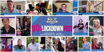 80's Lockdown Fest raises £135K for Child Bereavement UK!