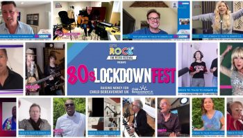 80's Lockdown Fest raises £135K for Child Bereavement UK!
