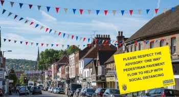 Marlow town centre pavements to be made one-way temporarily