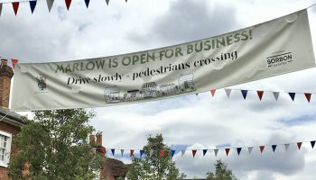Marlow starts to open up for business again…