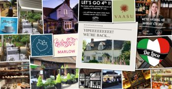 Marlow Food and Drink reopening schedule!