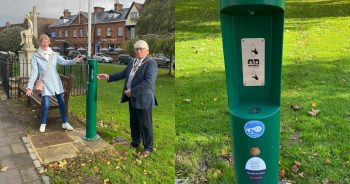 New water refill station for Marlow