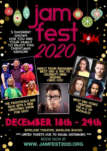 JAMFEST 2020 announced! 18-24 Dec