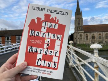 The Marlow Murder Club – book launch day for Robert Thorogood