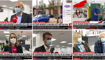 Marlow Vaccination Centre – features multiple times on CNN Brazil!