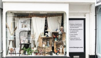 A window of pottery pops up in Marlow High Street