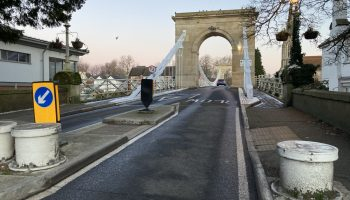 Marlow Bridge to be closed for more bollard work from Mon 15 Feb!