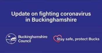 Update on fighting coronavirus in Buckinghamshire