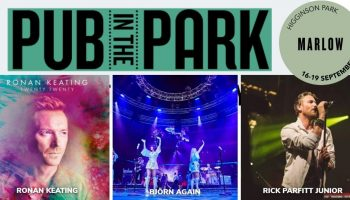 Pub in the Park – A THOUSAND THANK YOU'S on the opening night!
