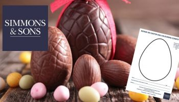 Design an Easter Egg Colouring Competition